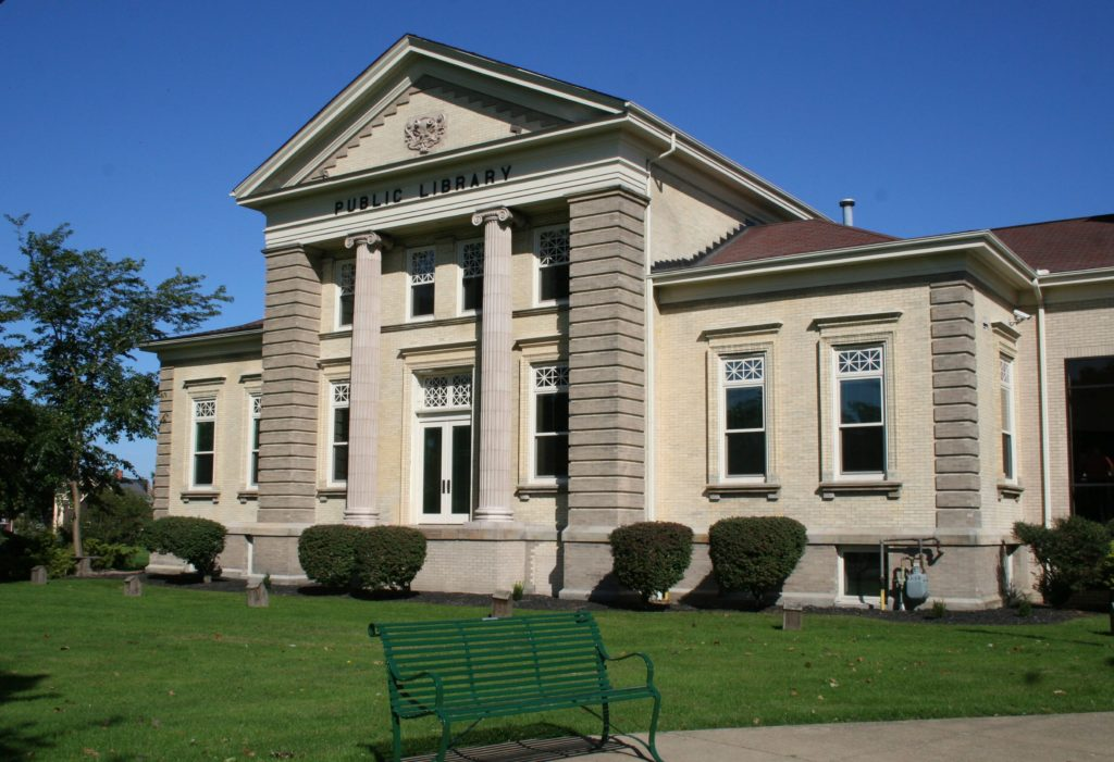Ashtabula Library building