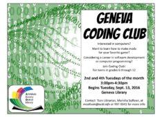 Geneva Coding Club