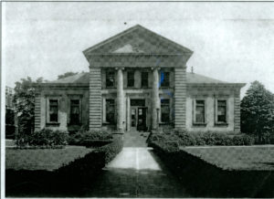 1939 Library Front Walk
