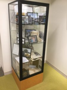 Vertical display case