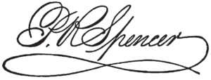 Platt Rogers Spencer signature