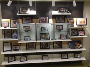 A display of art by Afterschool Discovery students