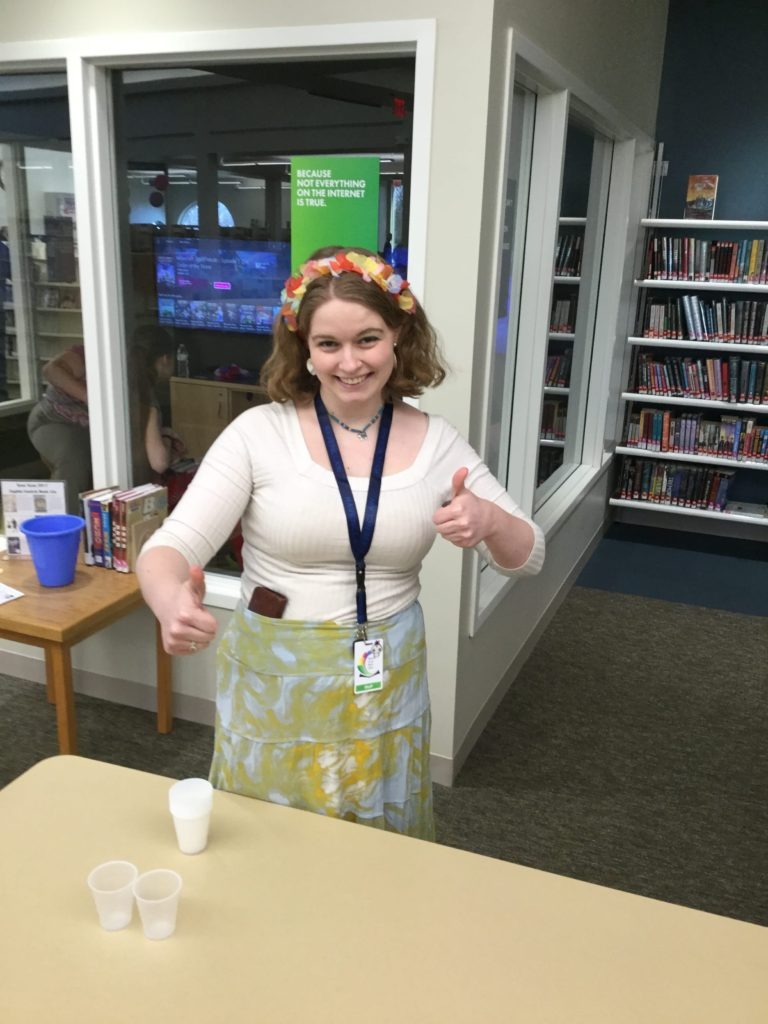 ACDL's teen librarian