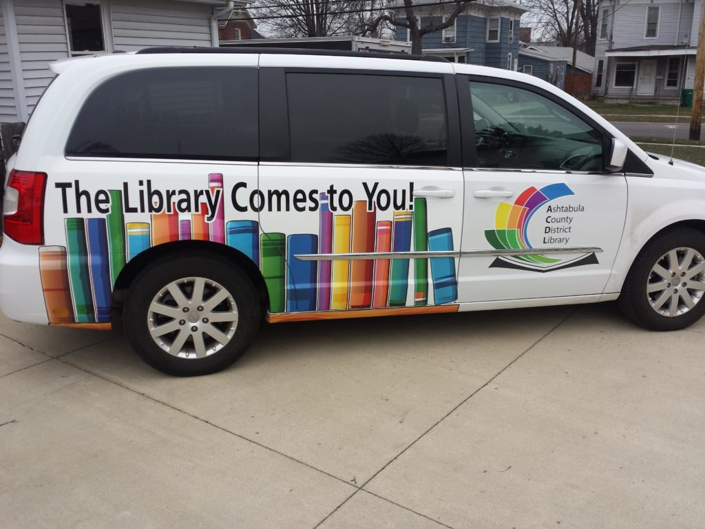 Library van books to your door