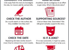 How to Spot Fake News (infographic)