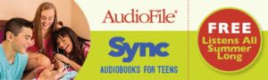 Sync banner, links to their site