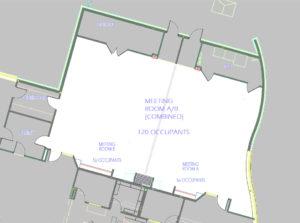 Ashtabula Meeting Room Floor Plan