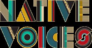 """""""Native Voices"""" logo"""