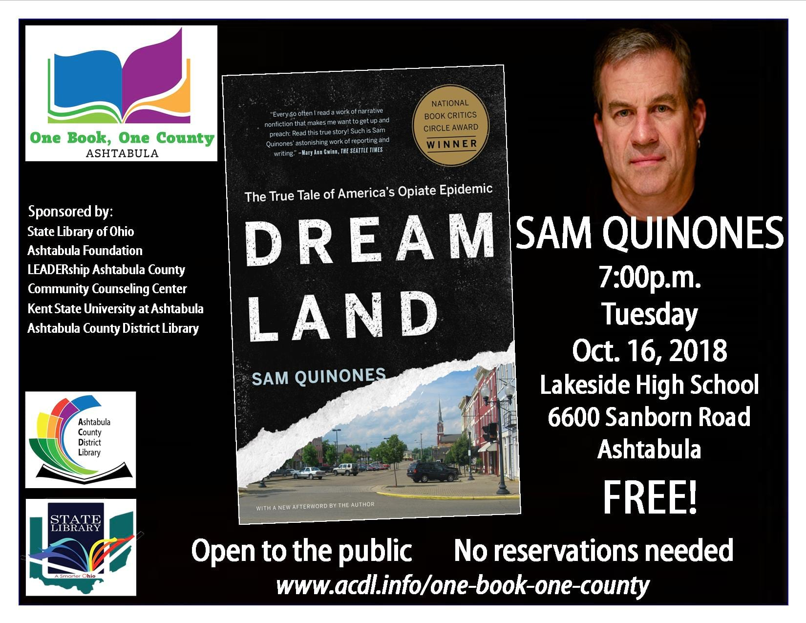 Dreamland Event flyer