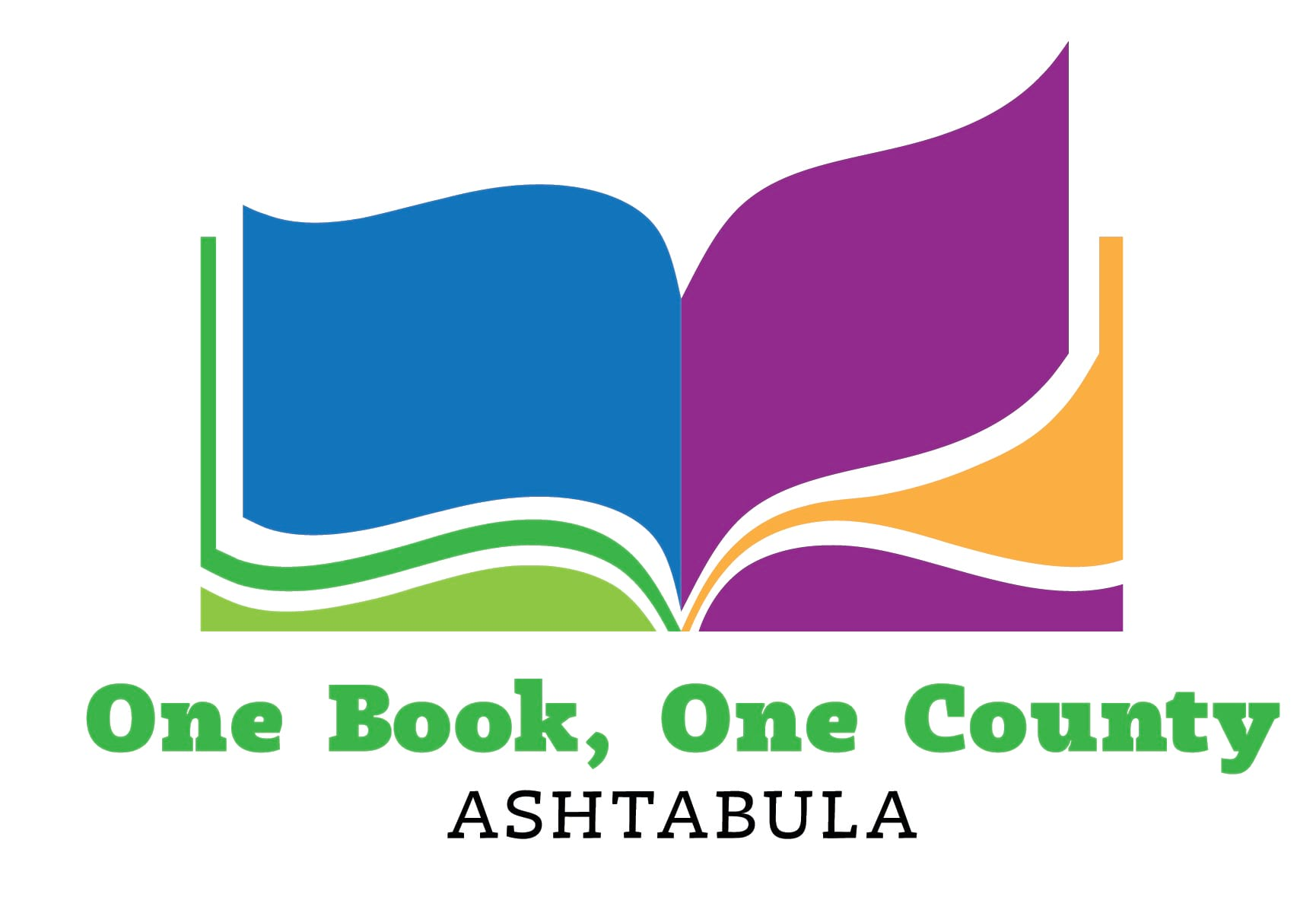 One Book, One County logo