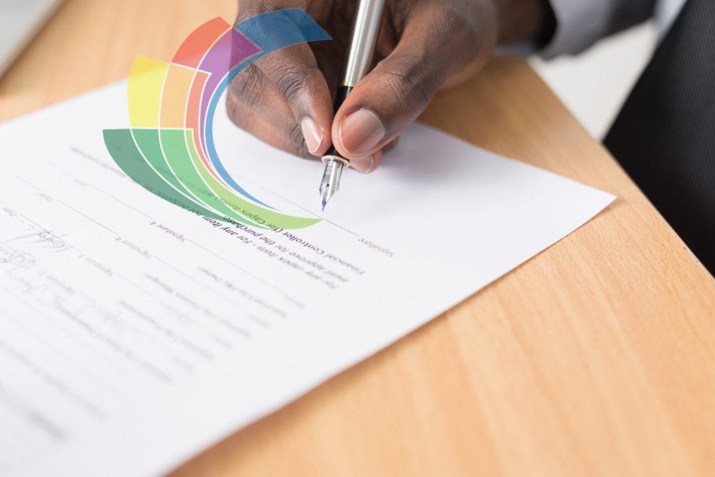 signing paper image